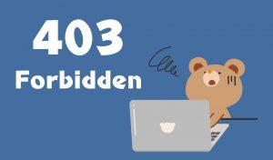 403Forbidden